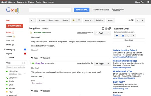 How to Test Drive Gmail's New Interface