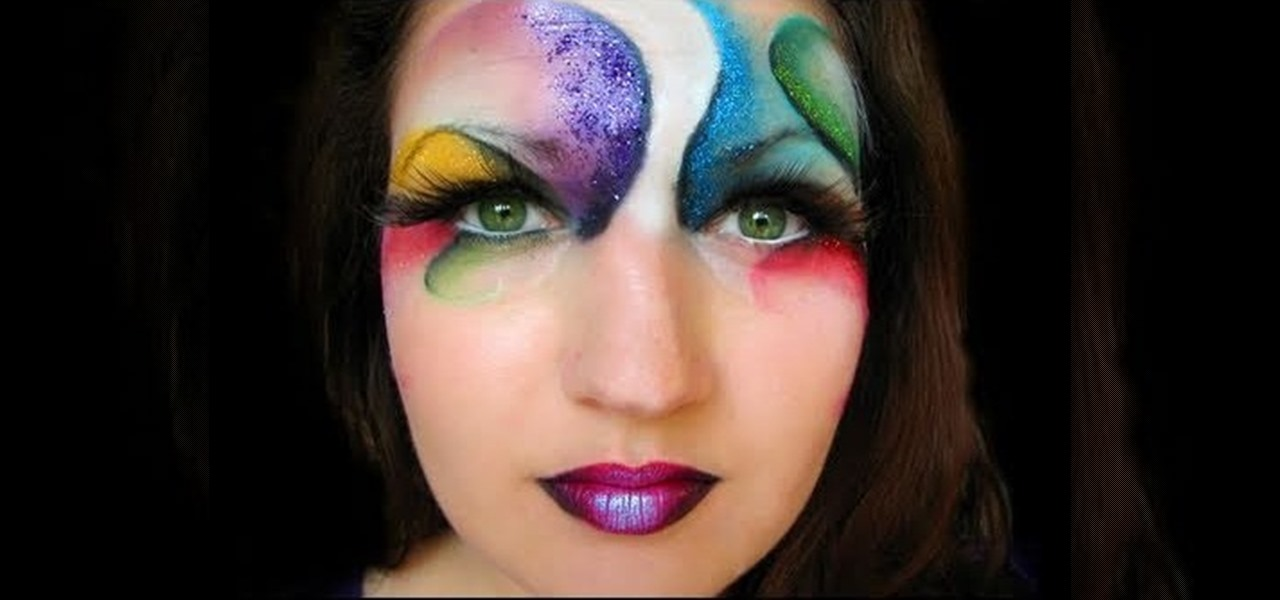 How to Create a fantastical Cirque du Soleil makeup look for Halloween «  Makeup  WonderHowTo