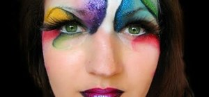 Create a fantastical Cirque du Soleil makeup look for Halloween
