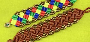how to make simple macrame belt