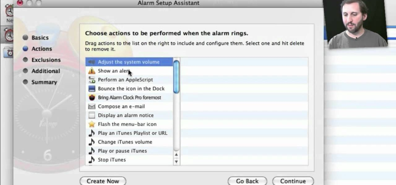 How to Use the Alarm Clock Pro alarm app on a Mac OS X ...