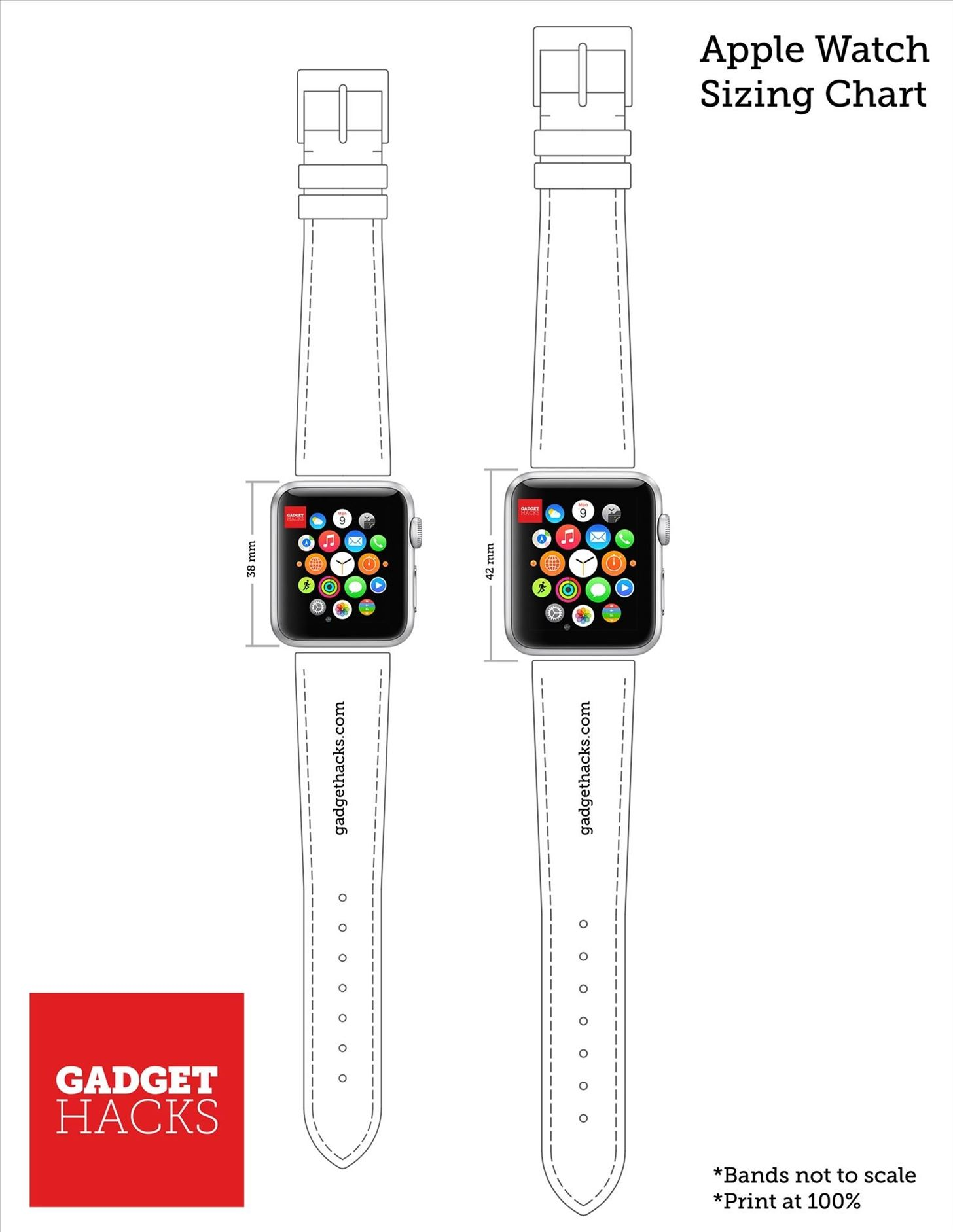 Which Apple Watch Size Is Best for You? Use Our Printable ...