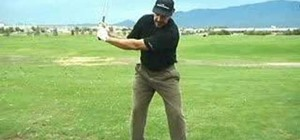 Get longer distance in golf with proper arm width