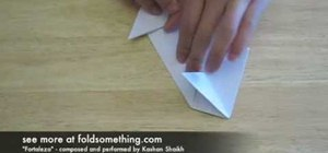 Fold An Origami Spaceship