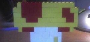 Build a Lego Mario mushroom