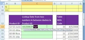 Extract data with the MID function in Microsoft Excel