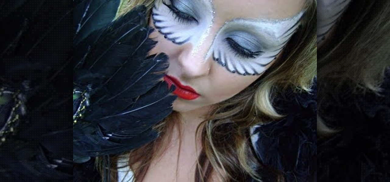 How to Make yourself look like a fallen angel for Halloween ...