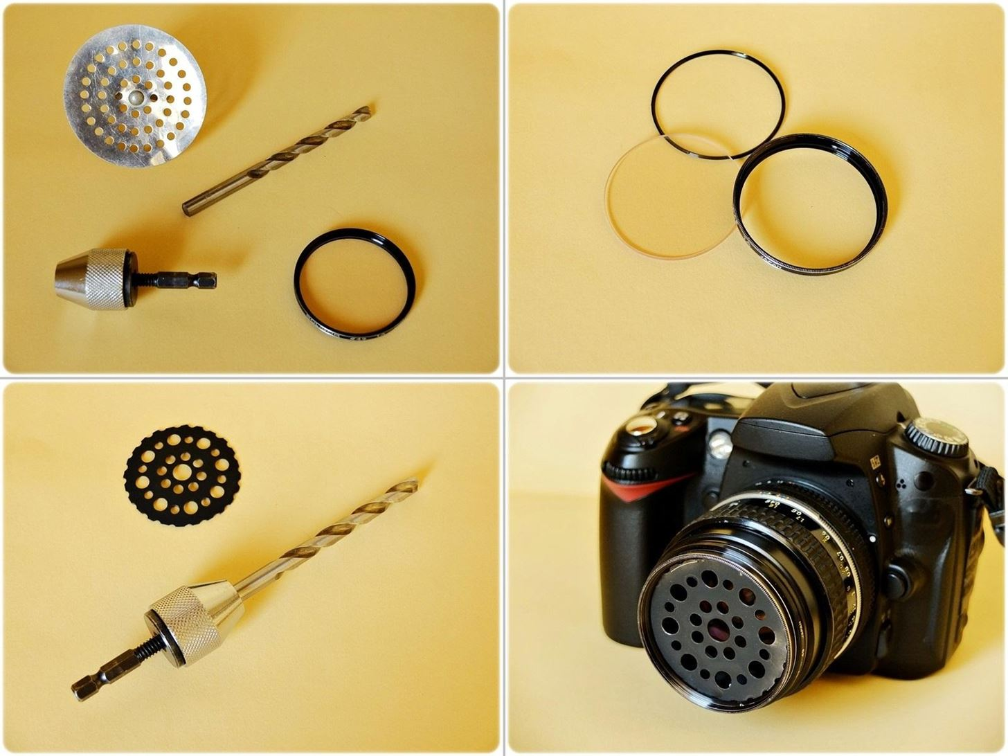 How to Turn a Sink Strainer into a Soft Focus Camera Lens Filter