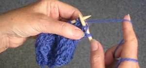 Unravel like lace stitch when knitting