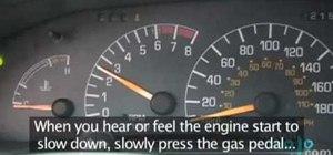 Drive a manual car