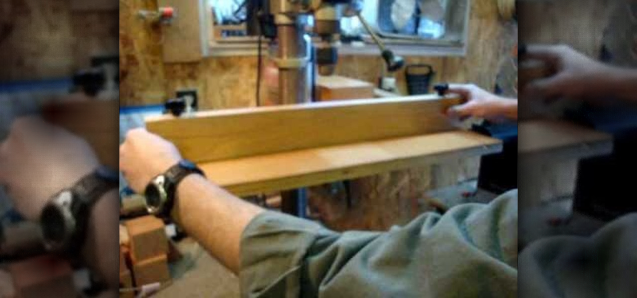 How To Build A Drill Press Table For Your Woodshop