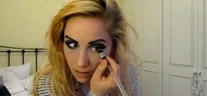 "Recreate Lady Gaga's ""Telephone"" makeup look"