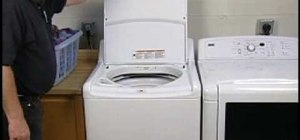 how to clean clothes washer smell