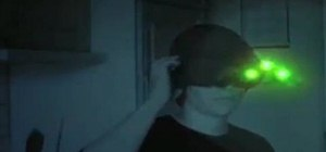 Make Splinter Cell prop goggles