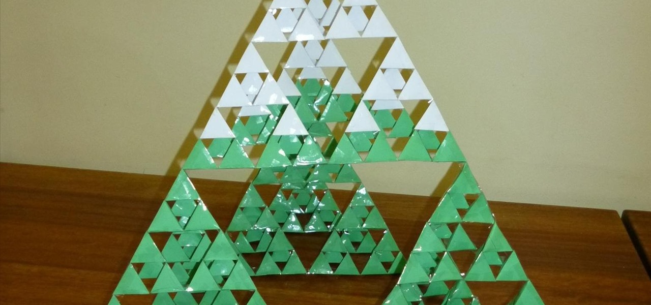 Christmas Decorations To Make In Maths : Sierpinski christmas tree ? math craft