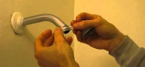 Install a low-flow shower head in your bathroom to save water and money