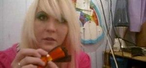 Make cute little hair clips