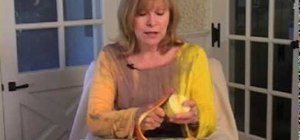 Peel an orange in a nutritious way with Jenny Jones