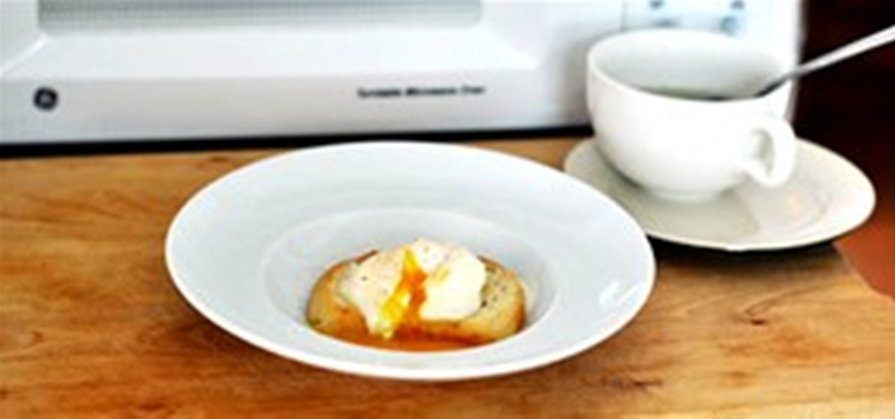 Poach an Egg in the Microwave