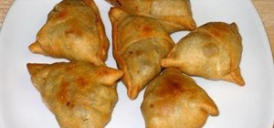 Make Indian samosa
