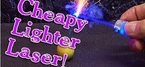 Make a laser out of a lighter