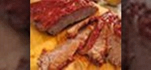 Cook classic beef brisket