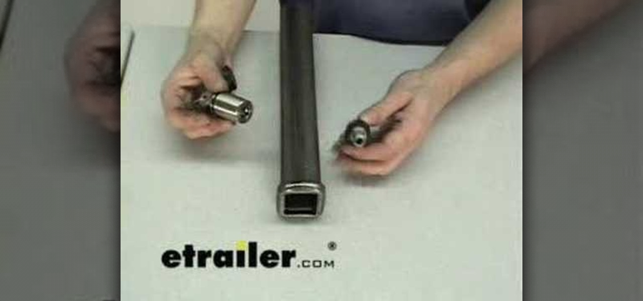 How To Use A Deadbolt Lock For 1 1 4 Inch Receiver Hitches