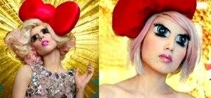 Recreate Lady Gaga's Trippy Anime Eyes For Halloween