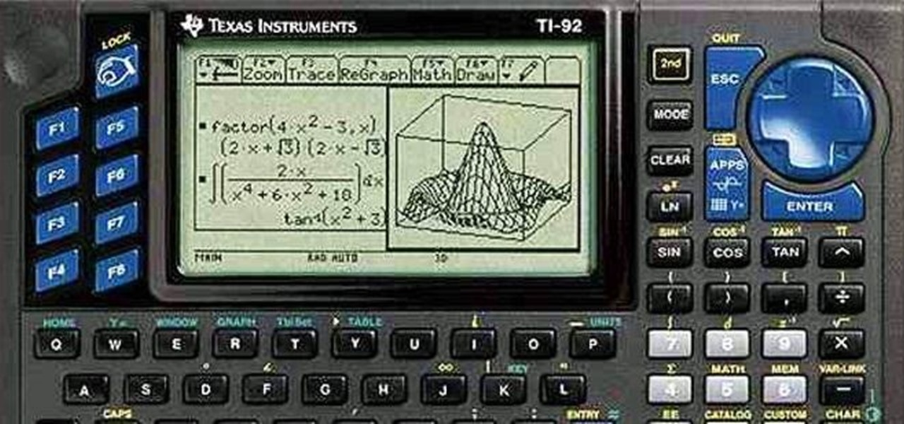 Spend Money on a Graphing Calculator? Nah—Just Use This Web-Based TI Emulator