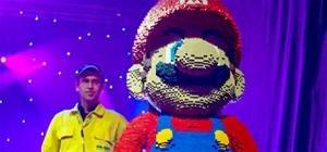 Mario Mania + LEGOs = Ultimate Fanboy Idol