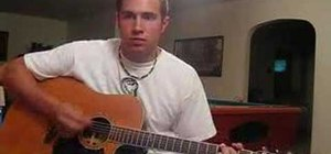 "Play ""Whatever It Takes"" by Lifehouse on guitar"