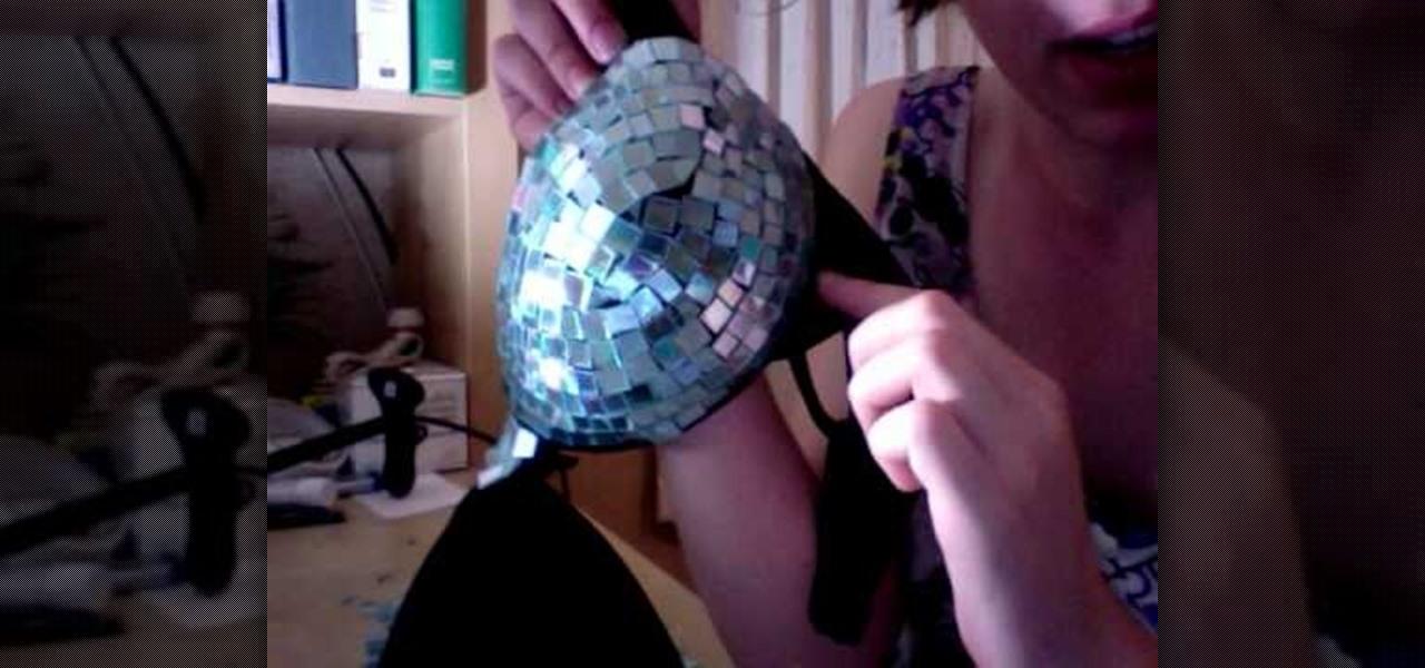 how to make a lady gaga inspired disco ball bra  u00ab sewing