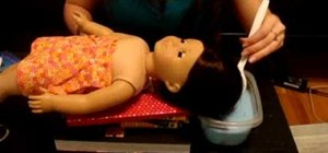 """Do a """"Downy dunk"""" on your American Girl doll"""