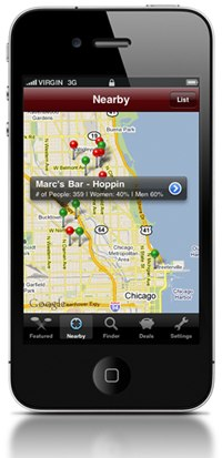 Barhopping with SceneTap: Scope Out Bars Right from Your Smartphone