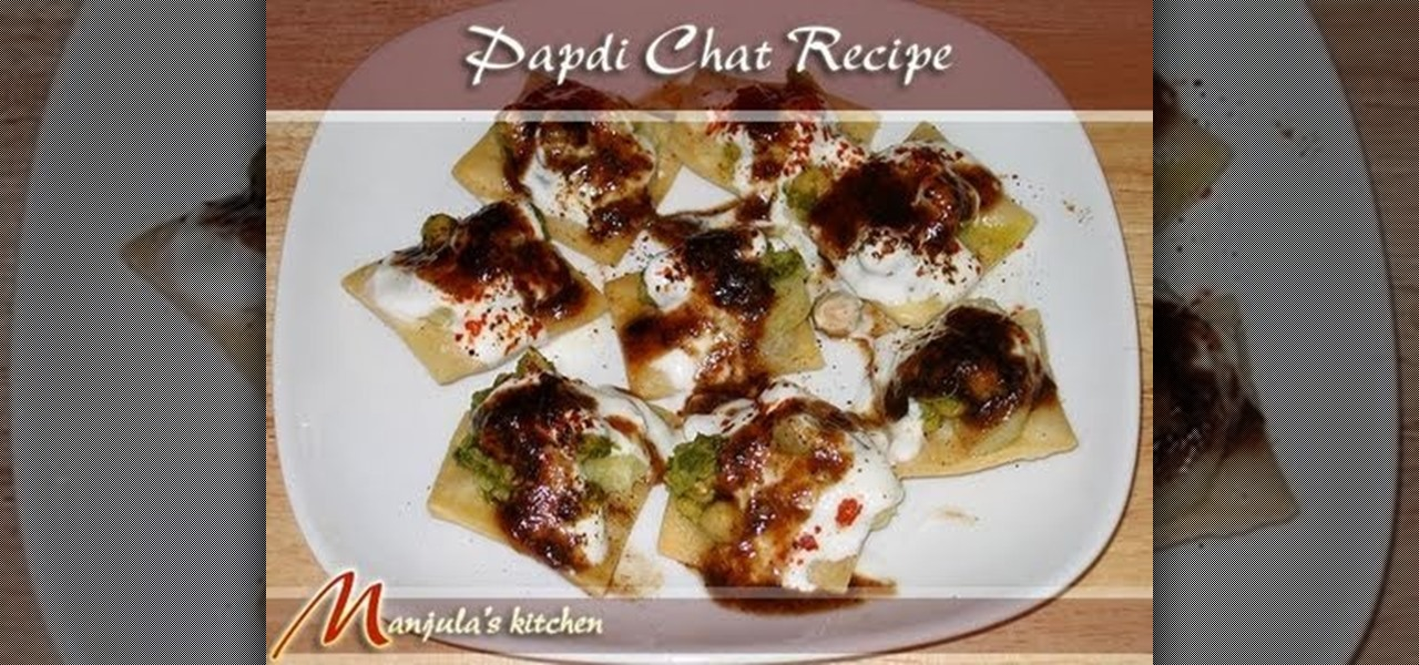 How to make indian papdi chaat with manjula snacks wonderhowto forumfinder Image collections