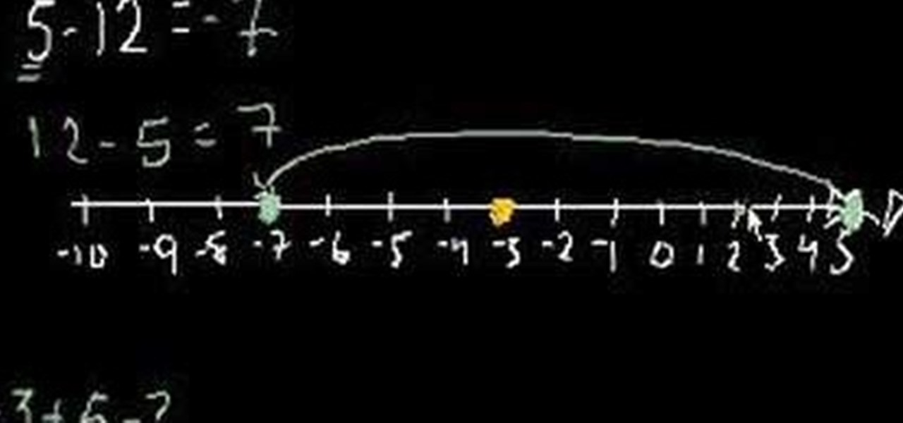 How to Add and subtract negative numbers in basic arithmetic ...