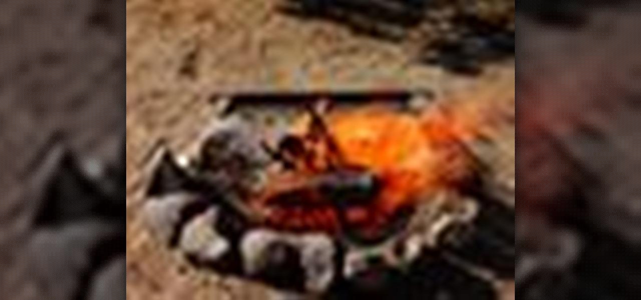 how to build a proper campfire