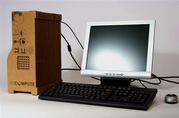 Cardboard PC is Ultimate Green Machine