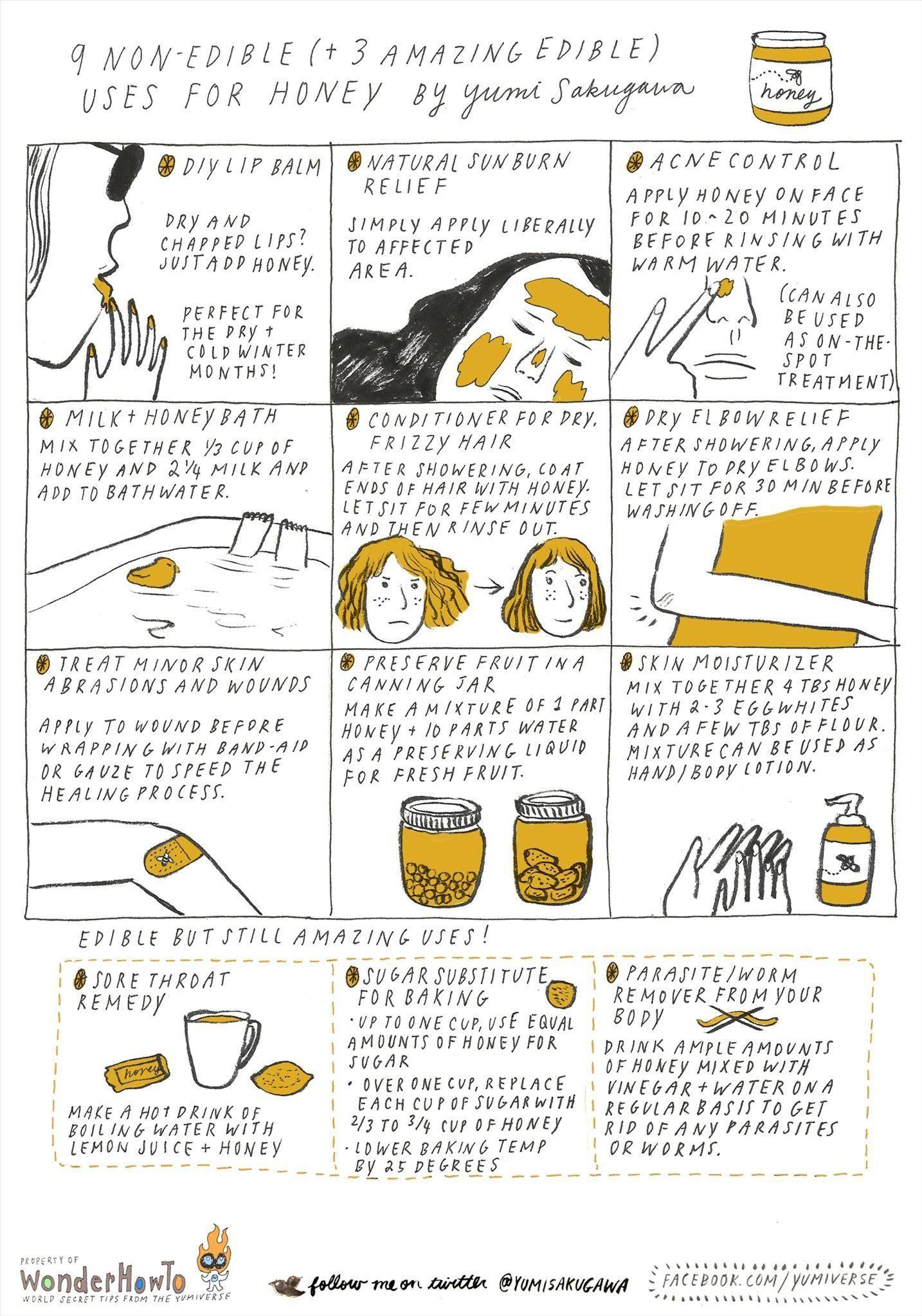 9 Non-Edible (+ 3 Amazing Edible) Uses for Honey