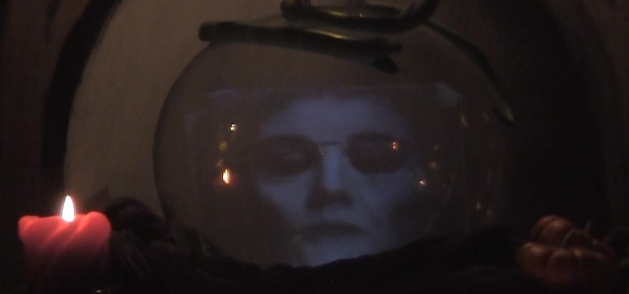 How to Make a 'Magic Crystal Ball' Talking Hologram for Halloween