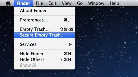 how to make a private folder on mac