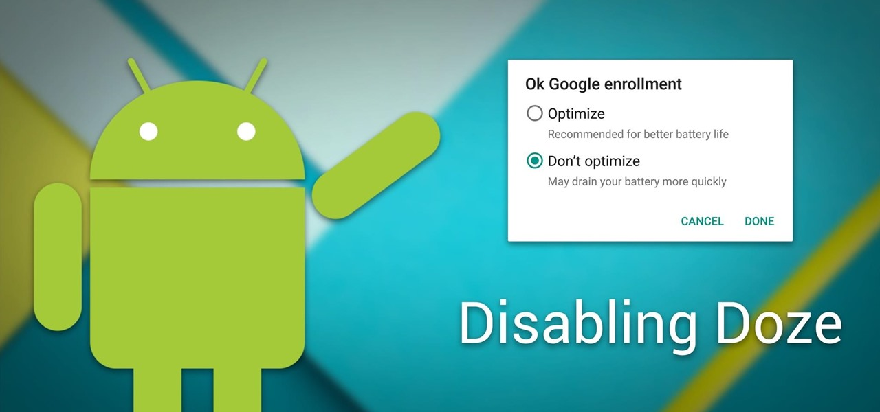 Android Basics: How to Disable Doze & App Standby for Individual Apps