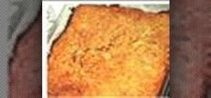 Prepare a kosher potato kugel