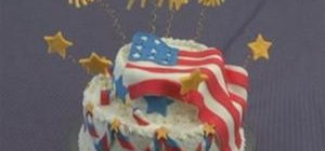 Make a Fourth of July cake