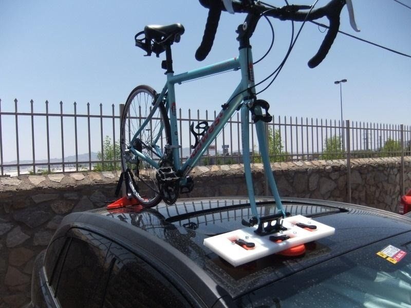 How to Make a Cheap and Reliable Suction-Based Bike Rack for Your Car