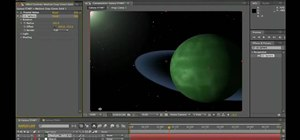 Build a galaxy scene from scratch in After Effects CS5