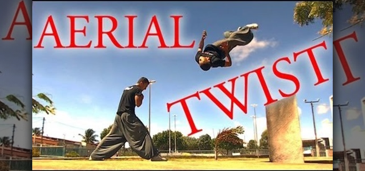 Do a Freerunning Aerial Twist