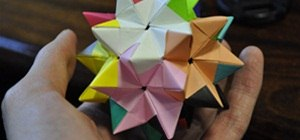 Fold a Pentakis Dodecahedron