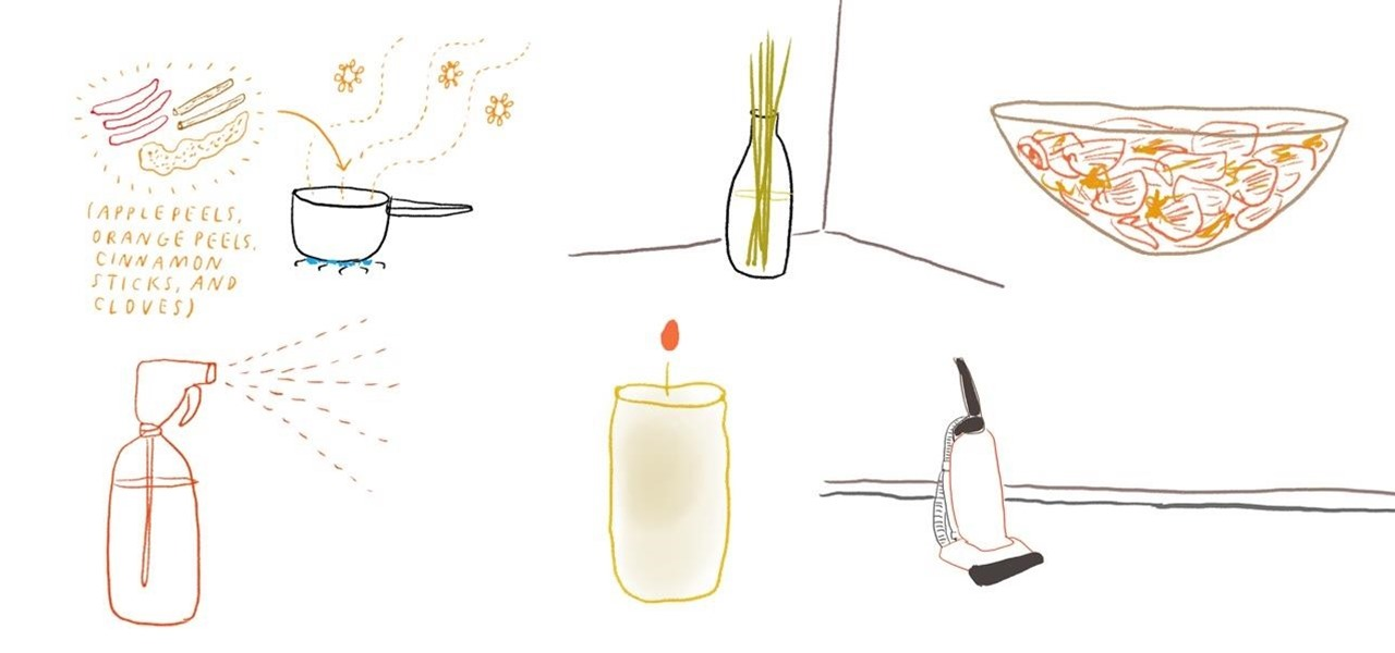 7 Ways Make Your Living Space Smell