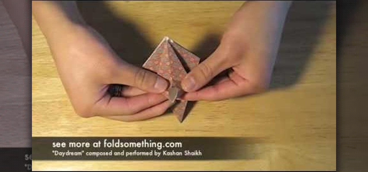 How To Fold A Lily Flower With One Sheet Of Origami Paper WonderHowTo
